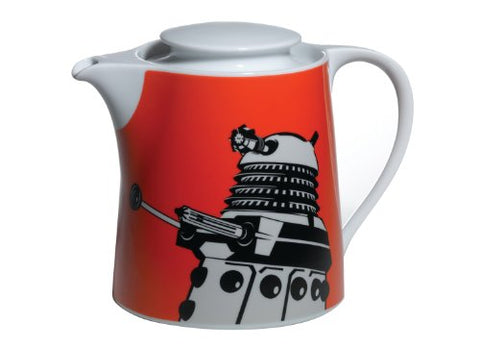 SALE Dalek teapot contemp.