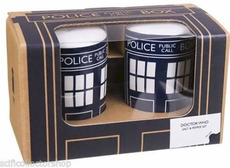 SALE Tardis salt & pepper set