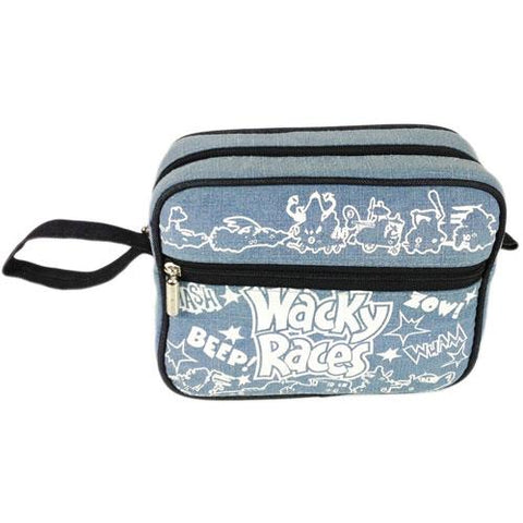 Wack races washbag denim