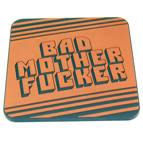 Bad mother pvc coaster