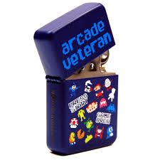 Arcade veteran lighter