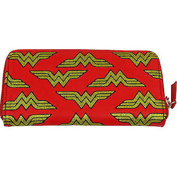 WonderWoman zipped purse
