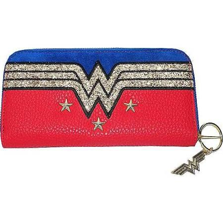 Wonderwoman large logo purse