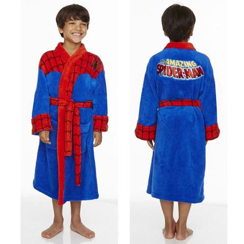 Spiderman robe 10-12