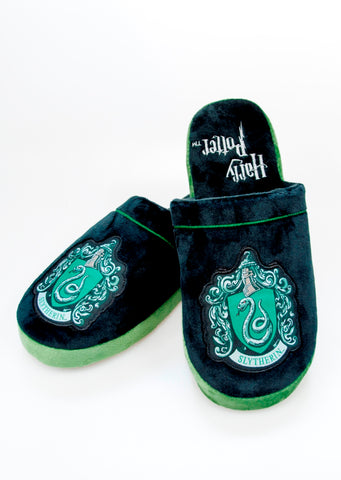 Slytherin slippers 8-10
