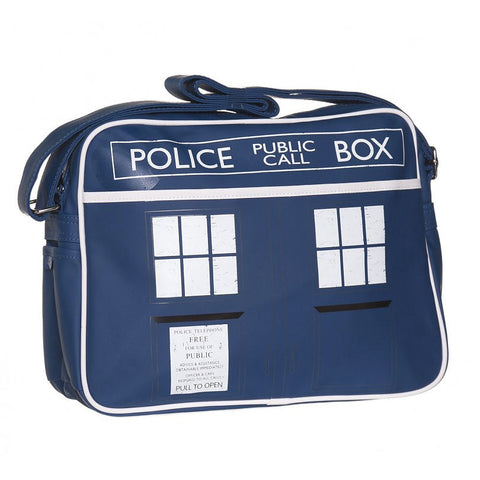 Tardis messenger bag