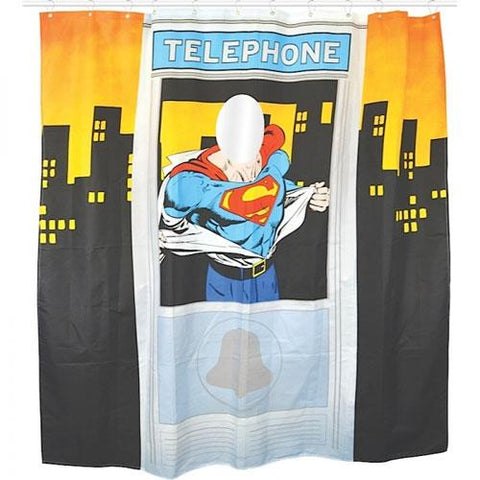 SALE Superman shower curtain