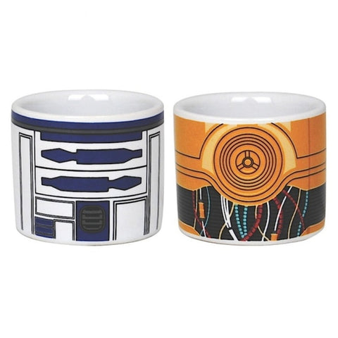 R2D2 & C3P0 egg cups