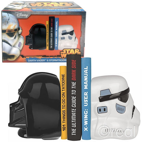 SALE Darth & Storm bookends