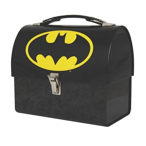 Batman domed tin tote