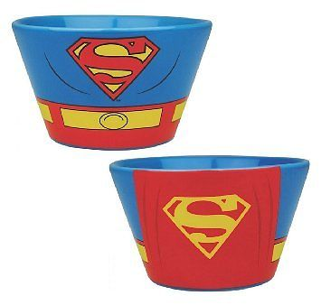 Superman cape bowl