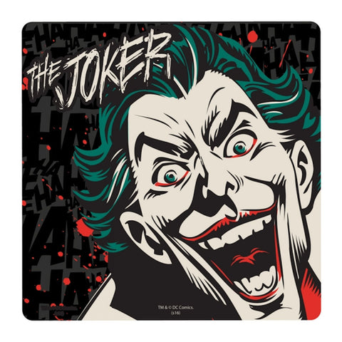 Joker face coaster