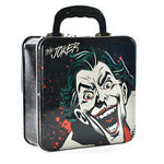 Joker face tin tote