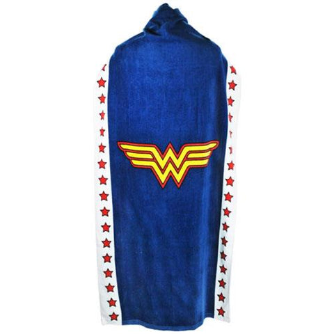 Wonder Woman cape towel