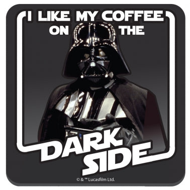 Darth dark side coaster