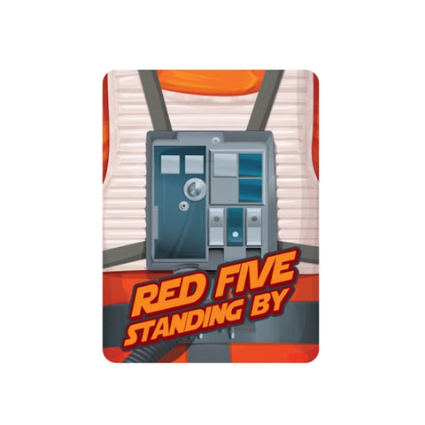 Star Wars red five magnet