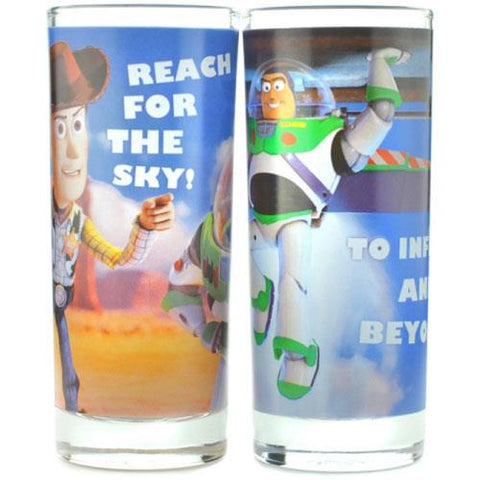Toy story set of 2 glasses