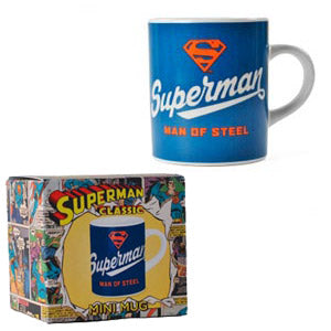 Man of steel mini mug