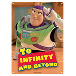 Buzz infinity small tin sign