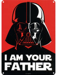 Your father small tin sign