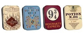 Harry Potter mini tins (4)