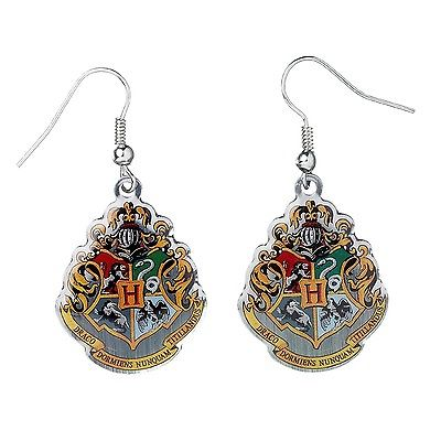 Hogwarts crest earrings