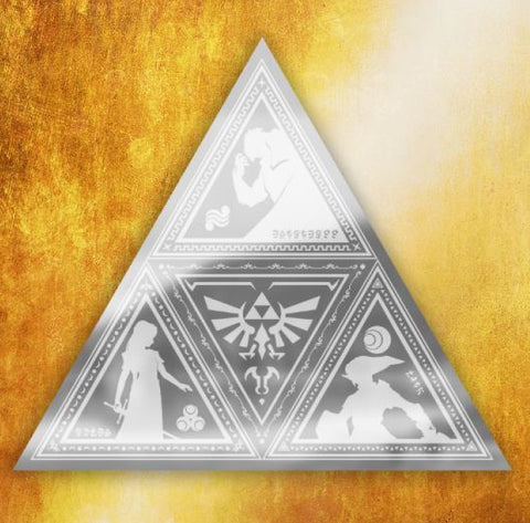 SALE Zelda triforce mirror