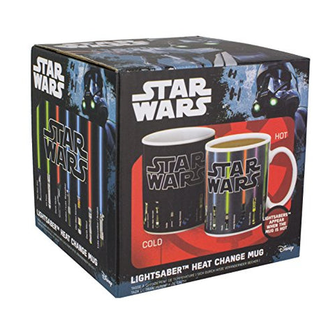 Lightsaber heat change mug
