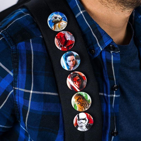 The Last Jedi Pin Badges