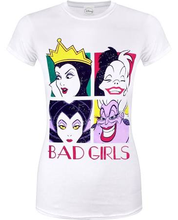 Disney Bad girls tshirt S