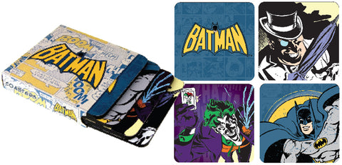 Batman coaster pack