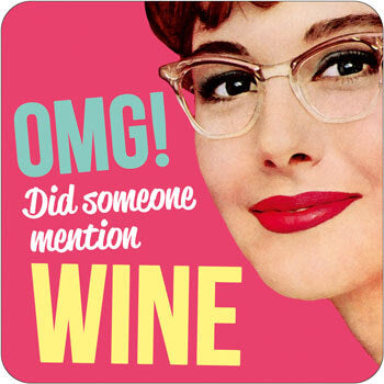 Mention wine coaster