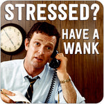 Stressed? wank coaster