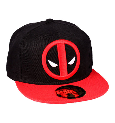 Deadpool Logo Cap Black