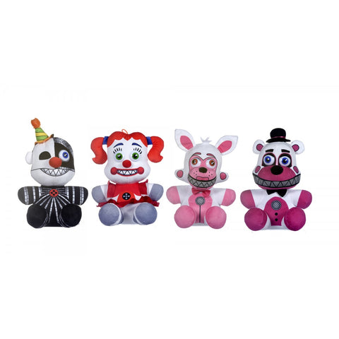 "FNAF 10"" Sister location mix plush"