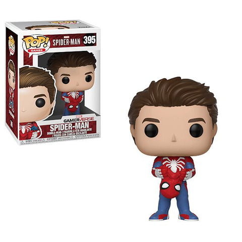 Unmasked Spiderman std pop