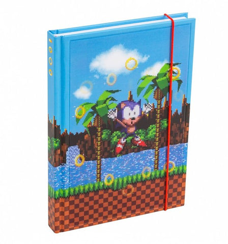 Sonic the Hedgehog Lenticular Notebook