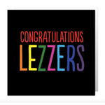 Congratulations lezzers card