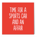 Time for a sports car card