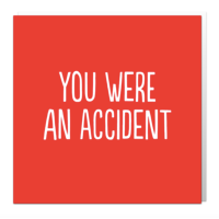 You were an accident card