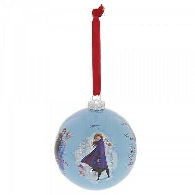 Frozen seek the truth glass bauble
