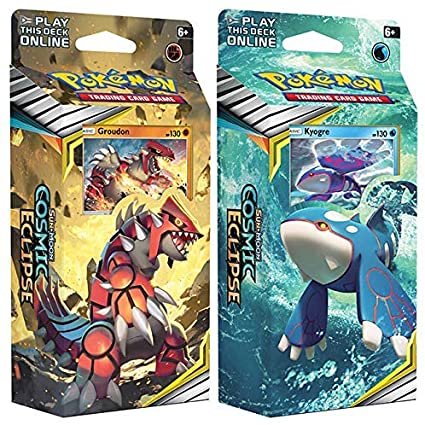 Pokemon Cosmic Ecipse card decks
