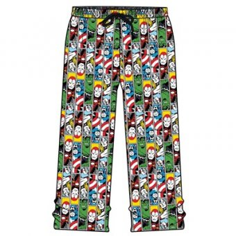 Marvel block PJ bottoms L