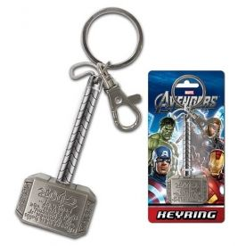 Thor inscrip. pewter keyring