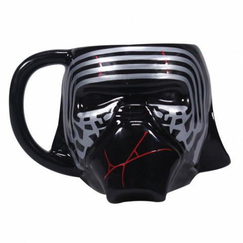 Star Wars Kylo Ren shaped mug
