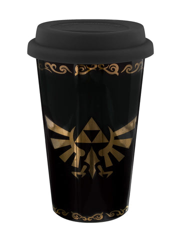 Zelda triforce travel mug