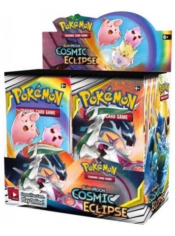 Pokemon Cosmic Eclipse boosters