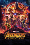 Avengers infinity war one sheet