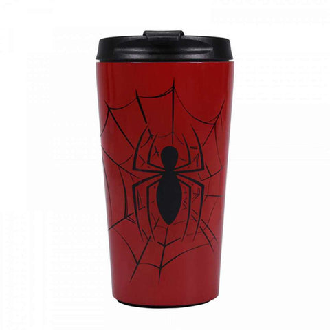 Spiderman metal travel mug