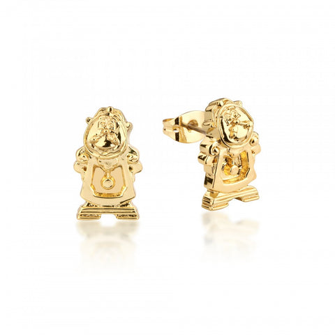 Disney Cogsworth Clock GP Stud Earrings